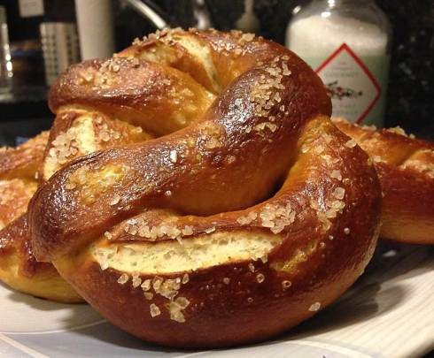 Not-so-Philadelphia-but-still-great pretzels